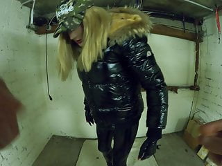 Svenja gets garage wearing...