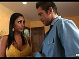 Massive Tit Indian MILF Fucks with plumber
