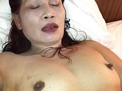 Thai granny pussyplay