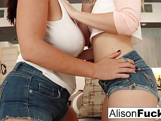 First time meeting then fucking with Alison and Samantha