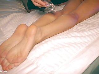 Lilu moon hard fast feet massage and huge...
