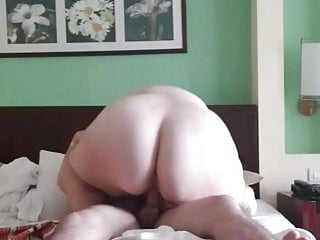 Ass bouncing on cock...