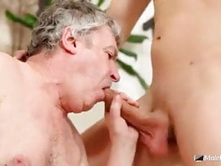 Sucks and gets fucked by young delivery man...