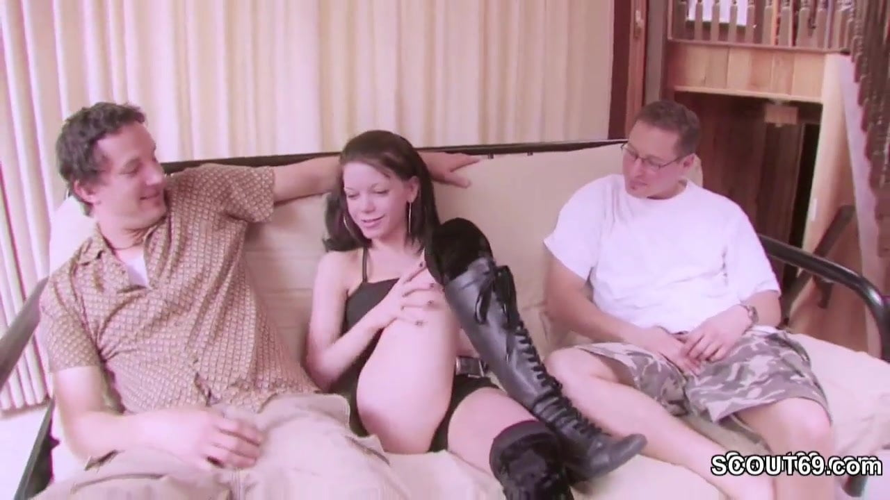 French Anal Teen Threesome