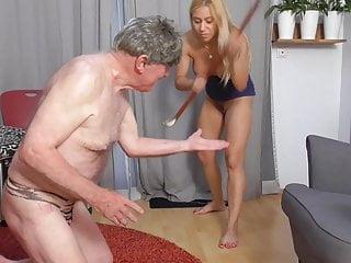 sadistic princess nicole punish grandpaps fingers red