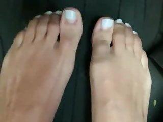 beautiful feet of my wife