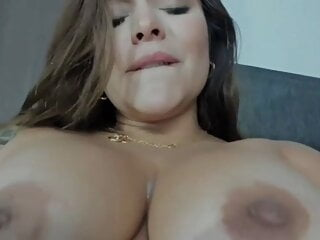 Sunny's big hard squirt and rough sex