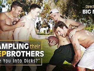 NextDoorTaboo – Dante & Carter Seduce Their New Stepbrothers