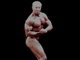 Bodybuilder contestant 105...