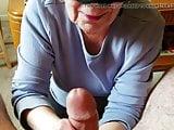 Granny loves cum