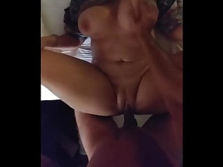 Fucking a hot pawg milf