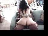 Big Arse Paki Begum sits on a Big Black Dravidian Dick