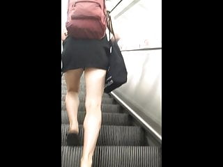 The Adult Video Experience – Candid Teen Miniskirt Upskirt