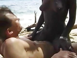 Hairy fuck euro guy beach...