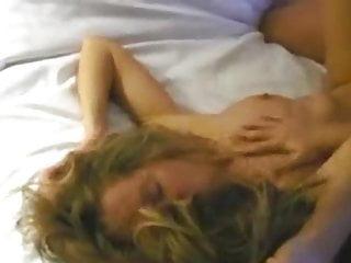 Female bi blonde homemade threesome...