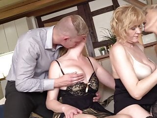 son mature young sharing mothers Three