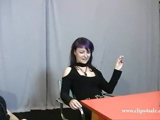 3  Smoking Pantyhose Mistress