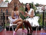 Glam lesbian milf pussylicking sixtynine