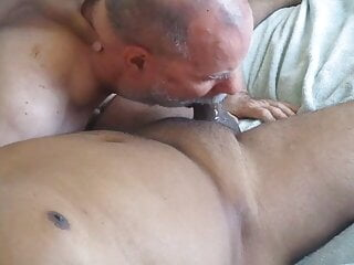 Married Cum Machine Visits And Feeds Me Two Loads.