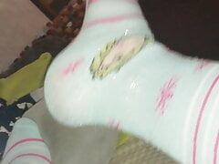 Frozen ankle socks abdl
