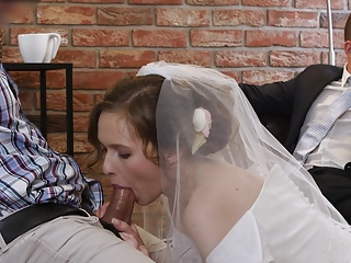 VIP4K. Married couple decides to sell bride