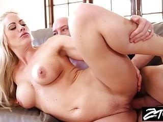 Big tit blonde MILF is getting revenge on her husband
