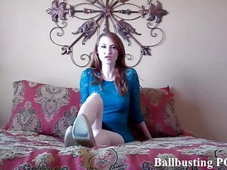 I will give you ballbusting...