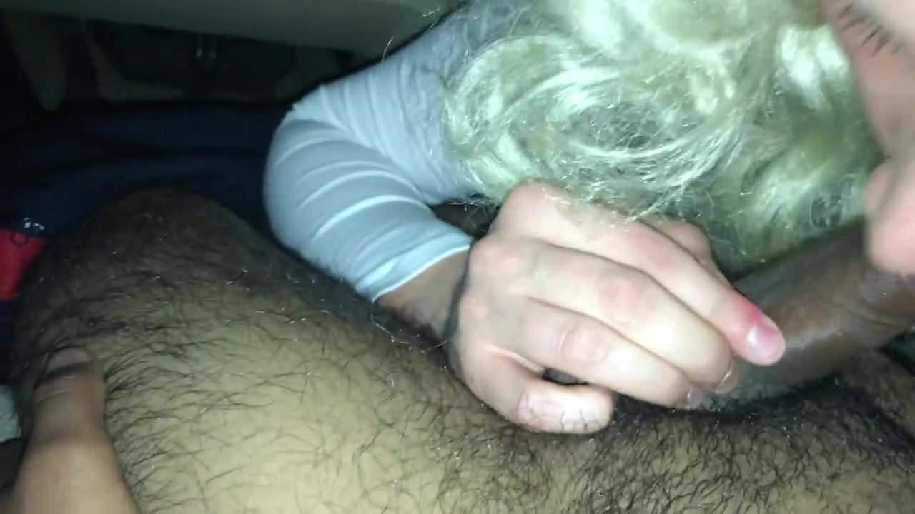Female Public Masturbation Car