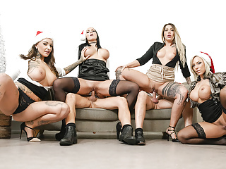 letsdoeit - hot office fuck fest christmas party - part 2.Porn Videos