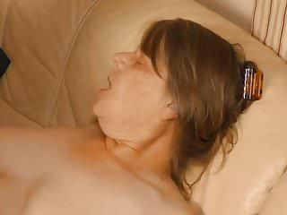 Granny enjoys hot hard fuck...