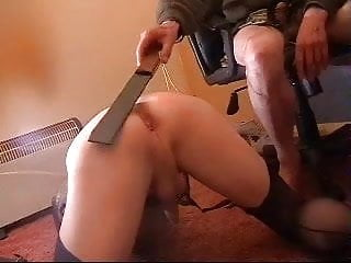 Master whipping me as i suck...