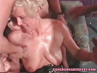 orgy Archive anal with MILF Gangbang Retro loving