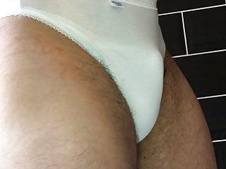 I love white cotton panties