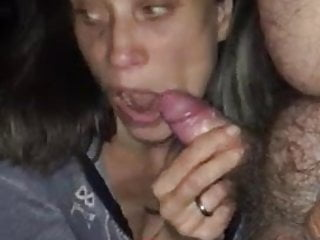Hillary slut wife at the car parking.boyfriend tapes