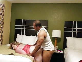 Russian mature her gym trainer fucking...