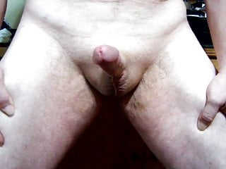 Cum Slow Spurts While Standing