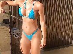 Sexy Blonde Bikini