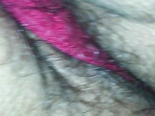 Red thong upper part 2...