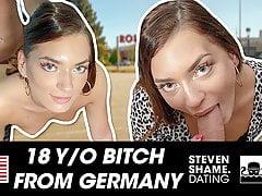 Teen Sub Babe Lisa enjoys a German dick! StevenShame.dating