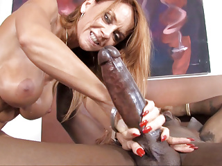 Janet Mason Received't Overlook This big black cock