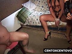 Nonna sodomizza una gran figa poi si fanno scopare dalla CXC