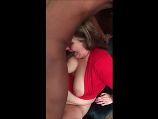Fat White Granny Sucking Dick