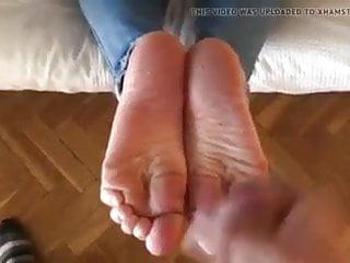 Cum on soles erotic favorite