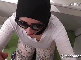 Arab Humiliation Cum Swallowing video: Hijabi whore face fucked