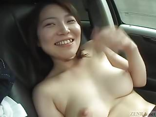 Subtitled pale and curvy japanese...