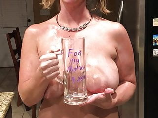 Cup Slave Girl in Piss May -