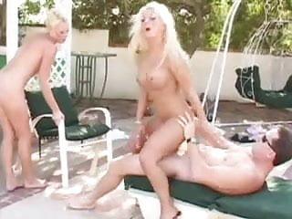 British slut Victoria receives anal in a FFM threesome