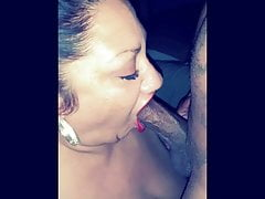 Mature Dominican bbw has intense orgasms from bbc..