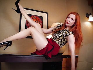 My Little Leg Addict -Lady Fyre Femdom Pantyhose
