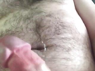 Cub cums on his beard